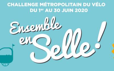 Rejoignez l'équipe «Les madeleinois à vélo» pour le challenge métropolitain à vélo le 1er juin